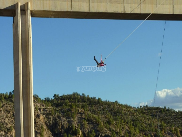 Bungee jumping in Murcia