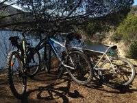 巴塞罗那山地自行车路线,小组活动
