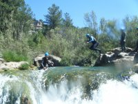 Canyoning in the Sierra of Gredos