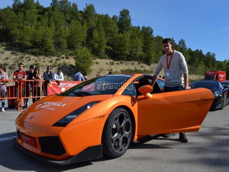 Puedes conducir un Lamborghini