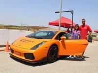 Espectacular Lamborghini naranja