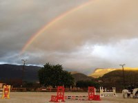 Rainbow at the riding centre