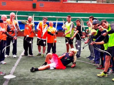 Archery Tag Barcelona Despedidas de Soltero