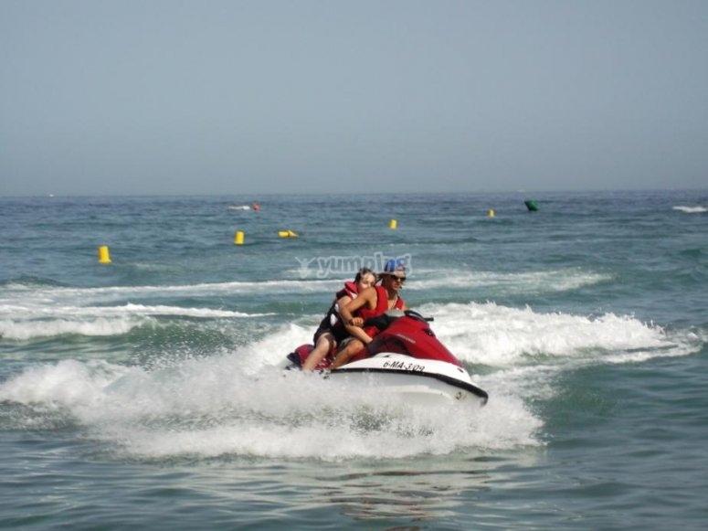 Moto de agua en Marbella