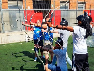 Archery Tag Barcelona Team Building