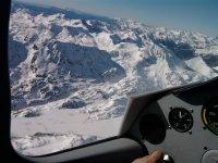 Nieve desde el avion