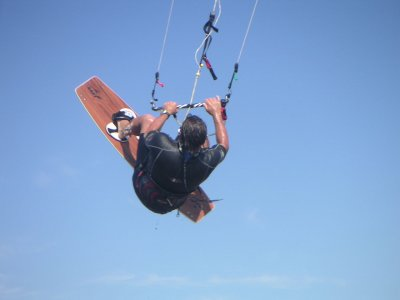 Battesimo di kitesurf a Malgrat, 2 ore