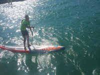 1h stand up paddle surfing + briefing, Gavà