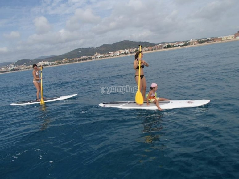 SUP in Cataluña