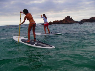 Paddle surf for beginners at Malgrat, 30 minutes
