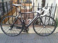 Una de nuestras bicis