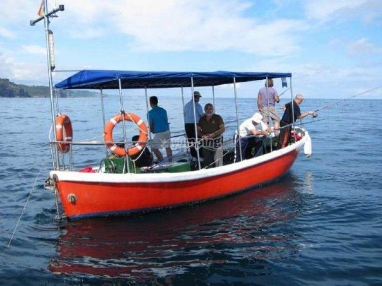 Pesca nelle Asturie