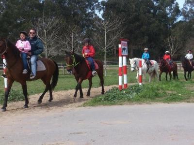 2 h. de ruta a caballo en los paisajes de Laredo