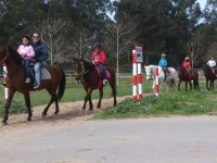 Excursion familiar a caballo