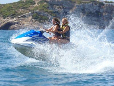 Alquiler de moto de agua biplaza Ibiza 1 Jornada