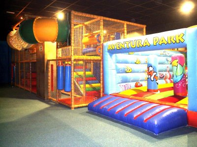 Indoor playground in Badalona for weekends