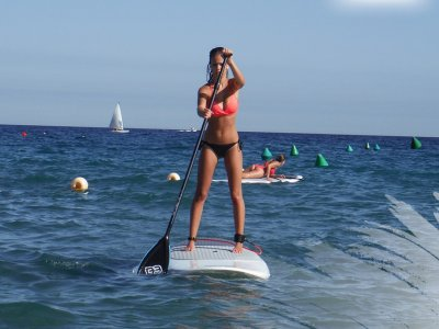 洗礼划船冲浪在Cabo de Gata-Níjar2h
