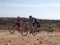 Ruta en bici de montana