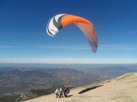 滑翔伞飞行在Sierra de Cazorla,45分钟