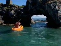 Alquiler kayak individual en Bahía de Santander 1h
