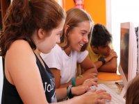 clases interactivas campamento urbano