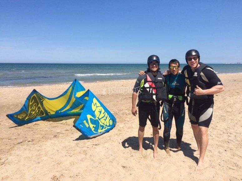 Lezioni di kitesurf a Dénia