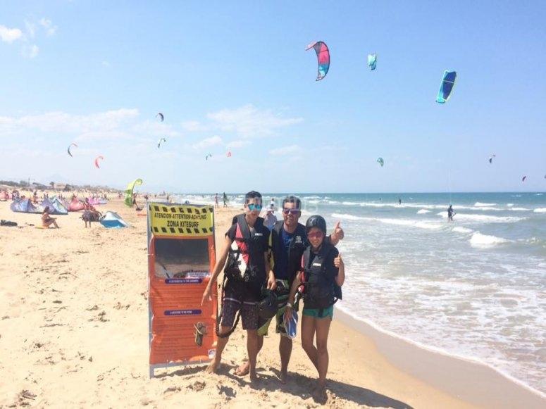 Learn to kitesurf in Dénia