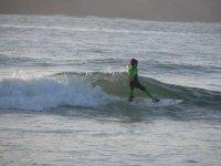 Clases particulares de surf en Gijón, 1 hora
