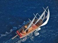 帆船达到速度