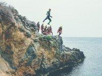 在Isla Plana上过山并浮潜4个小时