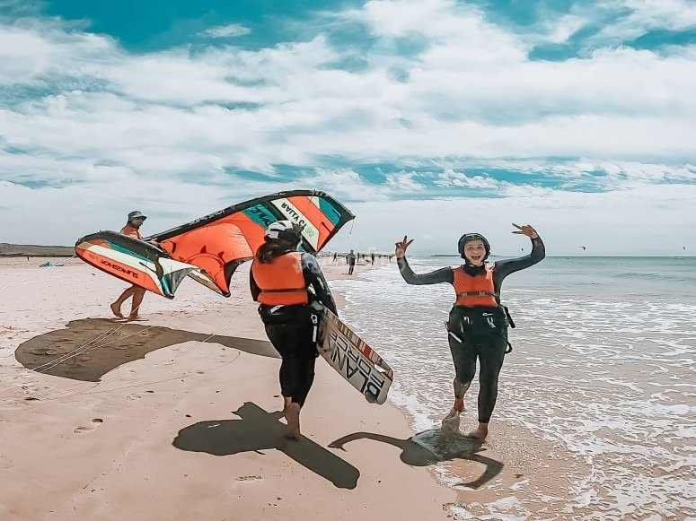 Descubriendo el kitesurf en Tarifa