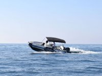 Acelerando la embarcacion