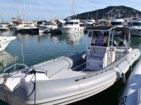 Barco para alquilar en el puerto de Ibiza