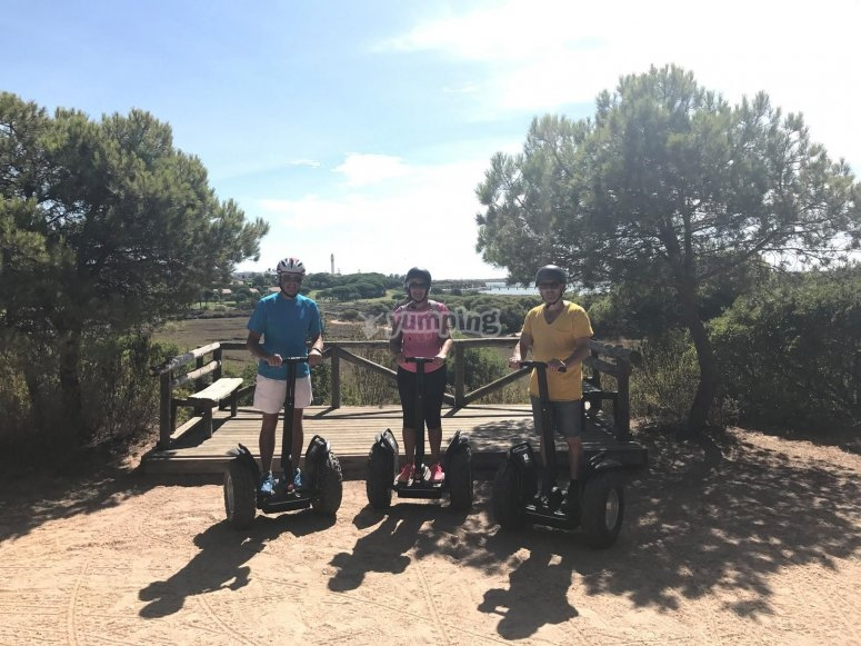 Excursion en segway