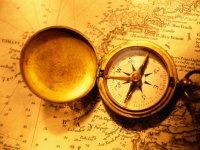 标识服务了解如何使用导航图双体船在码头附近