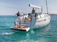 那天在船上的家庭船的Hanse 540