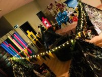Pijama parties in Mundo Pirata