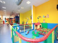 Baby zone for children up to 3 years old