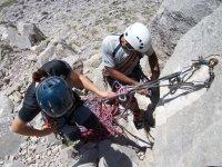 Curso iniciación escalada, Picos de Europa, 2 días