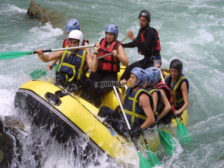 Rafting y barranquismo