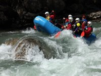 Pack rafting río Esera y barranco acuático Pirineo