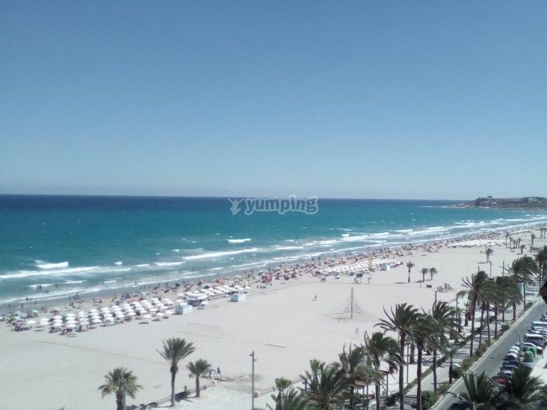 Playa de San Juan en Alicante