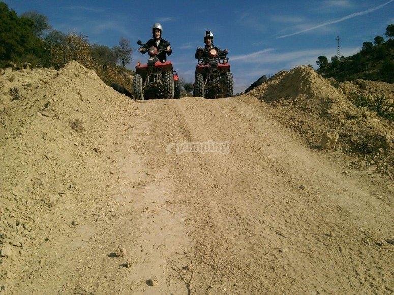 Descend with quads