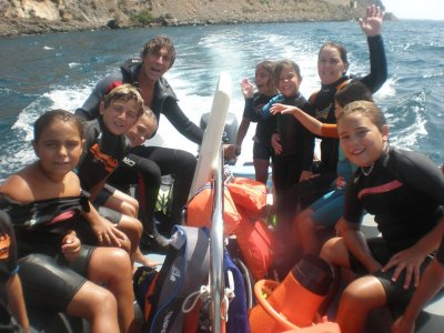 Ruta de Snorkel buceo con tubo Aguadulce
