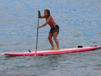 Clase de paddle surf en Gijón 1 hora