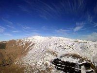 Paisajes nevados en Jaen