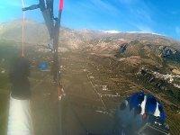 Sesion de vuelo en parapente biplaza en Jaen
