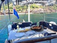 Comida en el mar