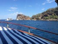 Vistas desde el navío