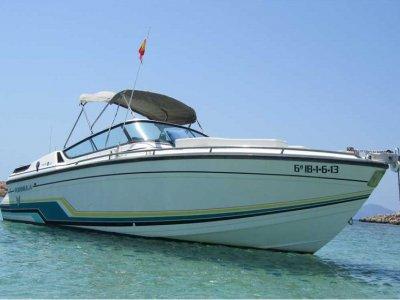 Paseo en barco Ibiza, 4 horas